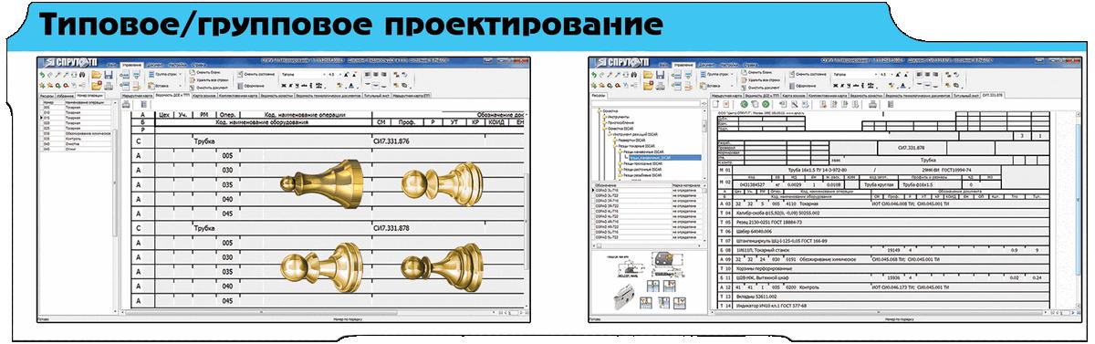 проектирование технологических процессов типовой групповой