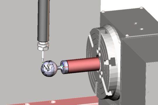 Ротационная обработка детали в SprutCAM