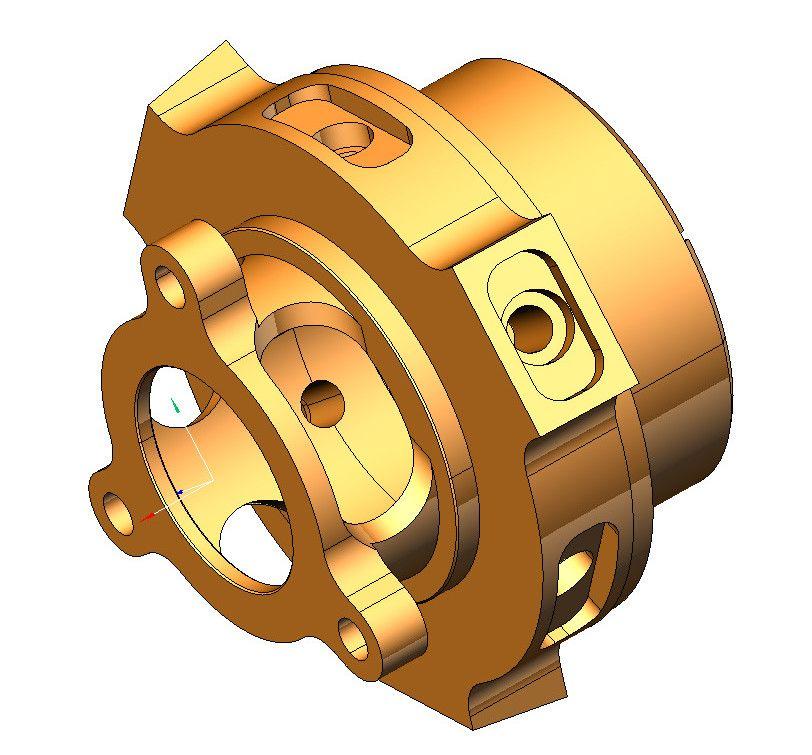 3D модель детали 16