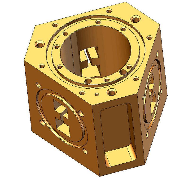 3D модель детали sprutcam 24