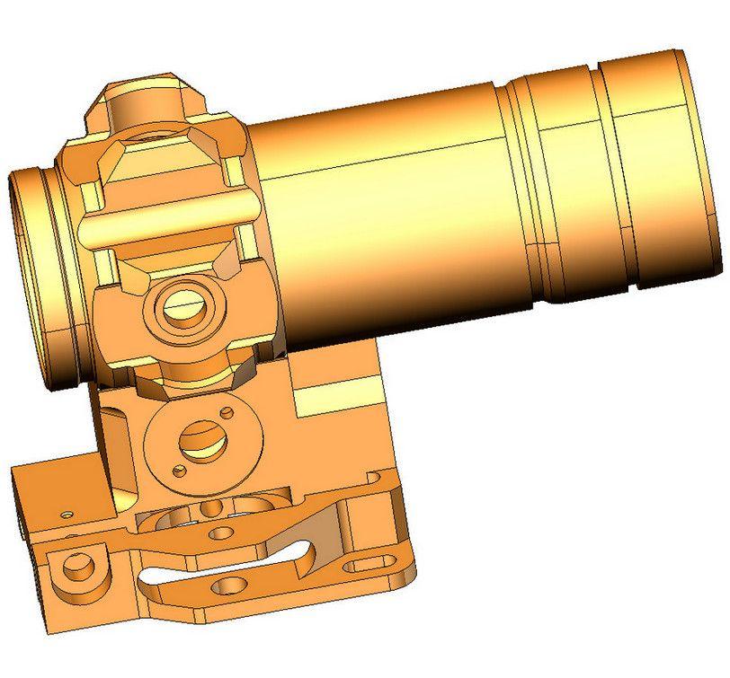 3D модель детали Kospas-CAD-part sprutcam
