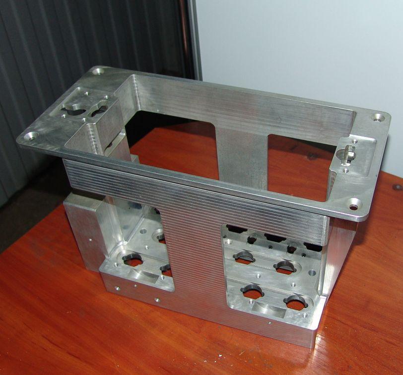 Готовая деталь, выполненная по УП из SprutCAM 8