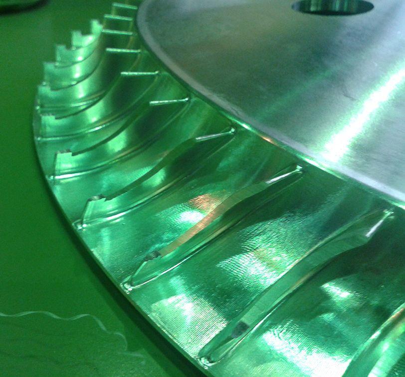 Готовая деталь, выполненная по УП из SprutCAM спруткам