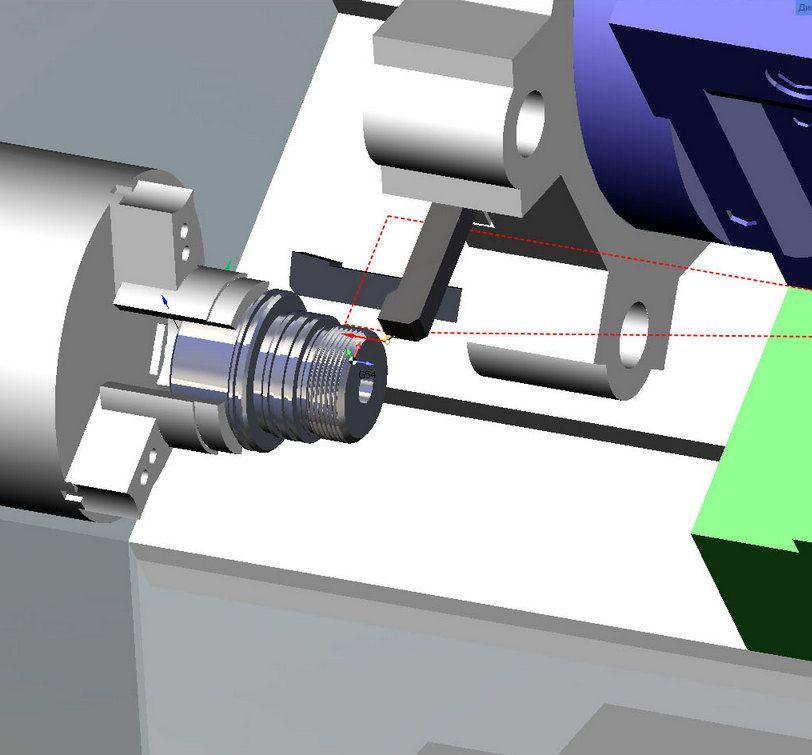 Обработка детали в SprutCAM моделировани 2