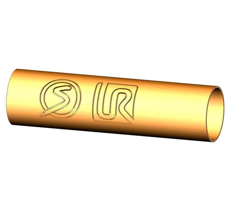 3D модель детали sprutcam UR