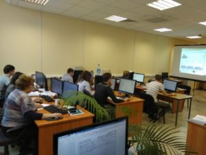 Центр СПРУТ на Енисее. Обучение на АО «ЦКБ «Геофизика» «СПРУТ-ТП-Нормирование
