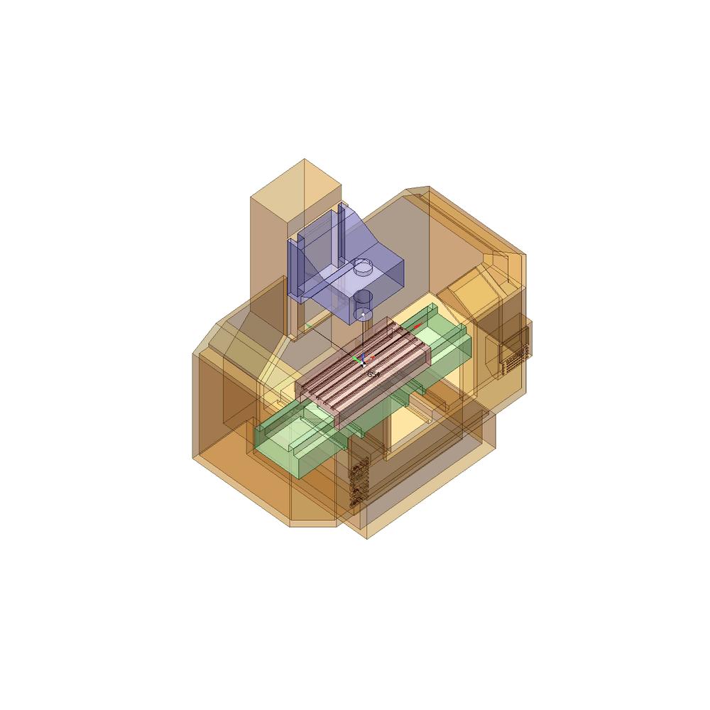 SprutCAM пример виртуального 3-х осевого фрезерного станка