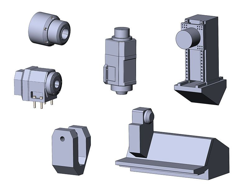 Кинематика станка SprutCAM Machine_3D_components