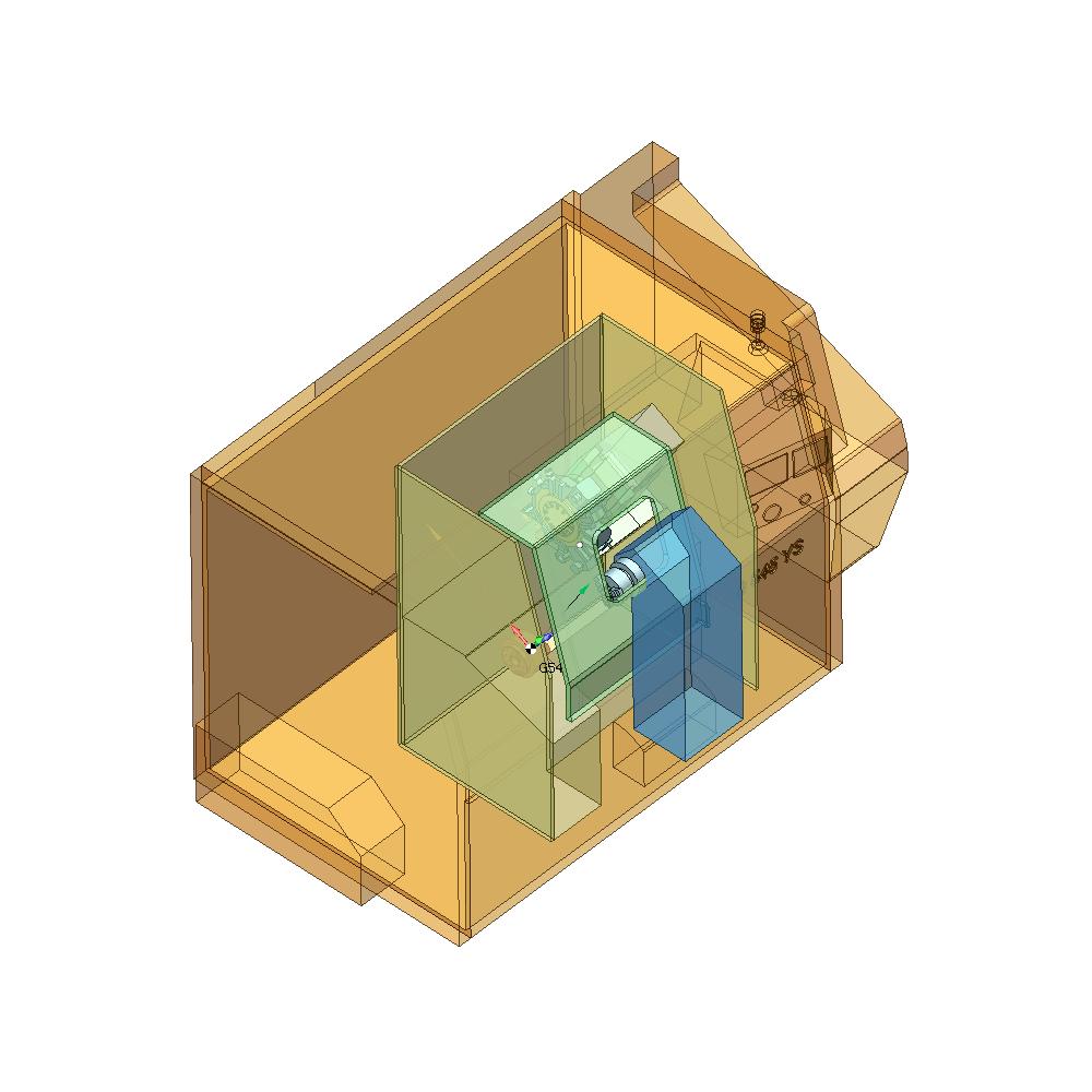 SprutCAM пример виртуального токарно-фрезерного станка