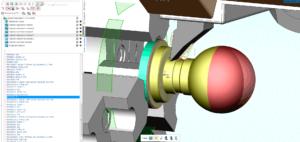 Моделирование токарной обработки по УП в SprutCAM