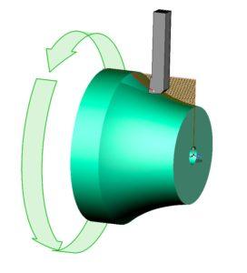 Токарная обработка турбины