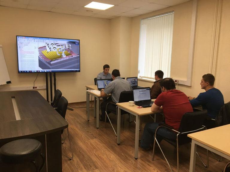 Обучение SprutCAM. Новый класс на Красноказарменной