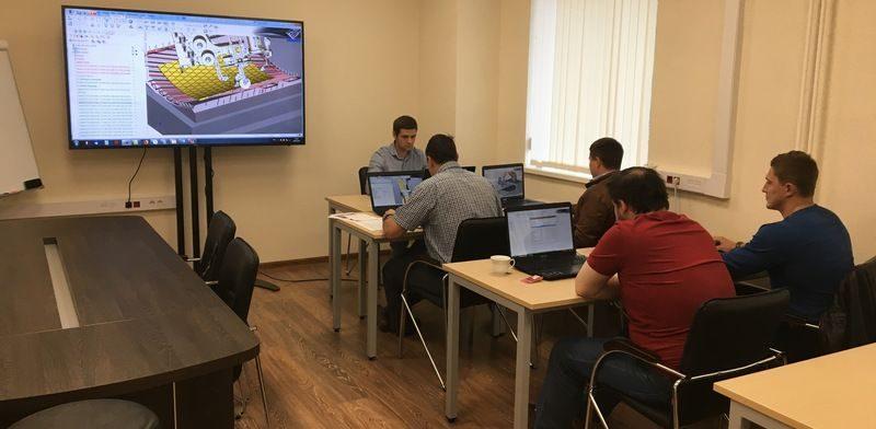 Обучение Центр СПРУТ-Т. Новый учебный класс на Красноказарменной