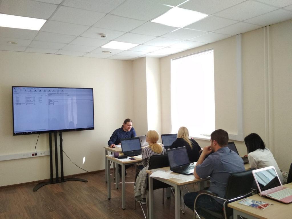 Обучение СПРУТ-ОКП. Новый учебный класс на Красноказарменной
