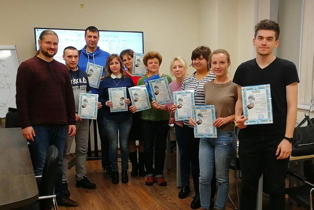 Teach ITT 3 Вручение дипломов СПРУТ-ОКП