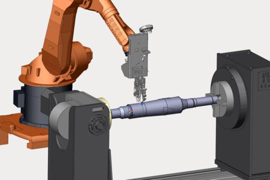 SprutCAM Robot Наплавка