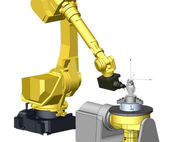 SprutCAM Робот. Преимущества. Симуляция