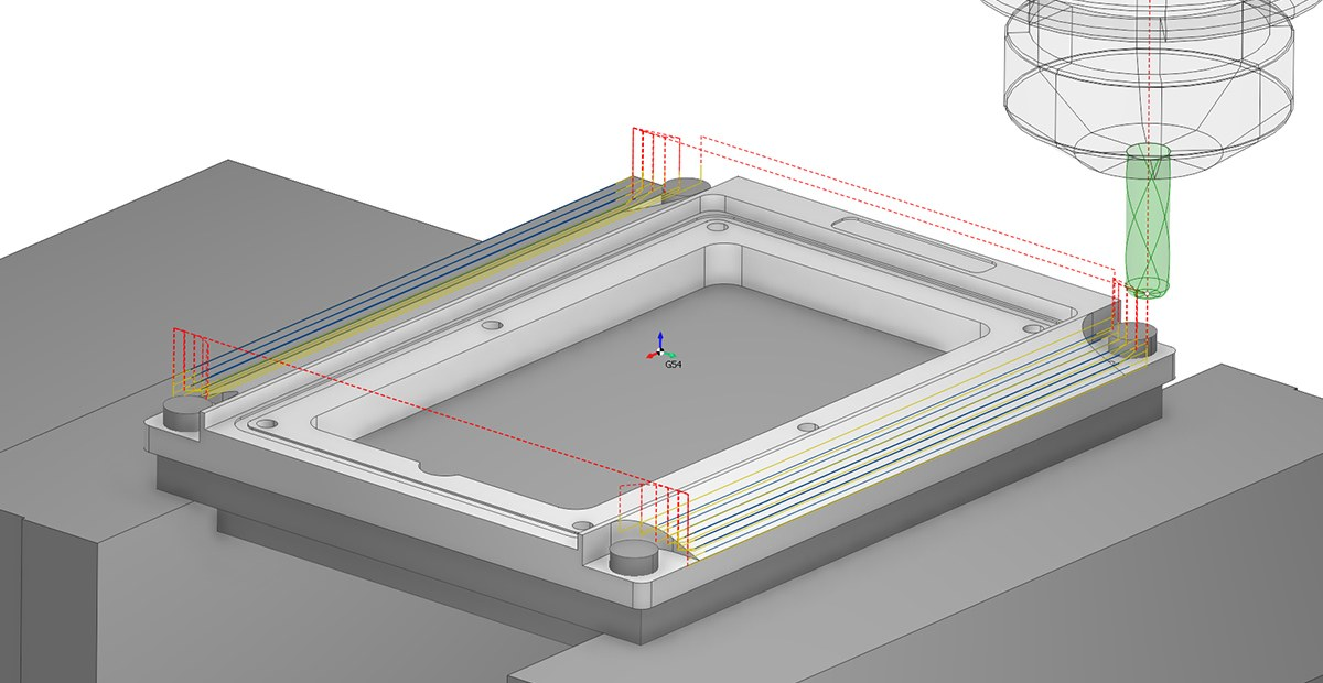 2,5D фрезерная обработка в SprutCAM