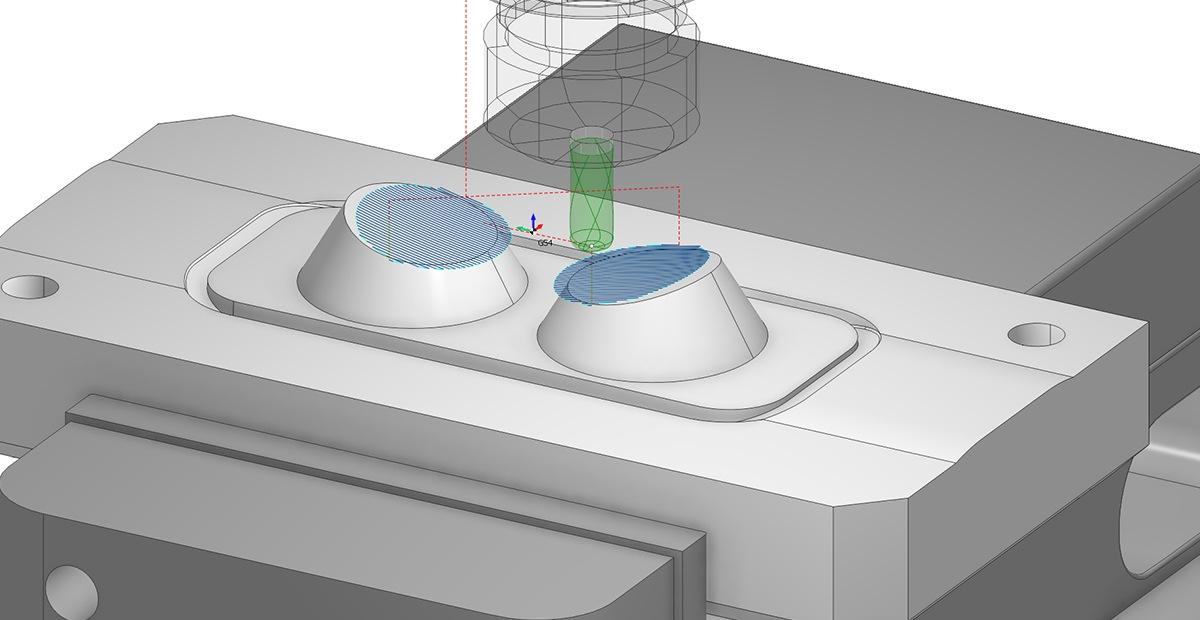 3D фрезерная обработка в SprutCAM