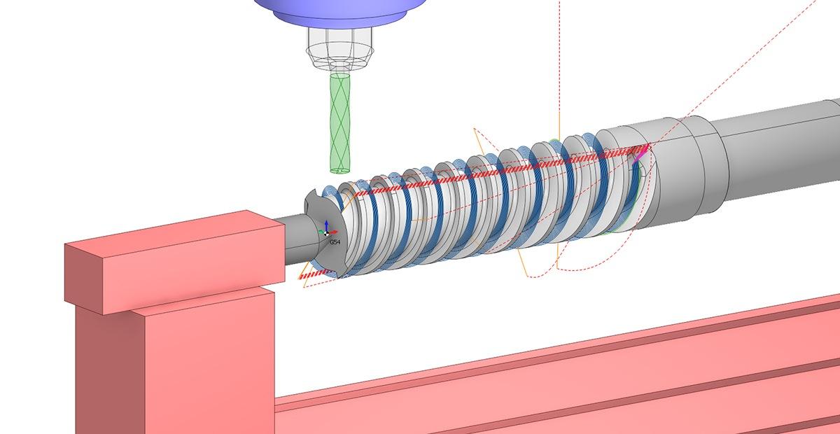 Ротационная обработка в SprutCAM