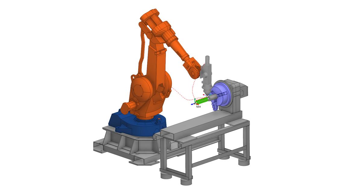 Наплавка роботом в SprutCAM 2
