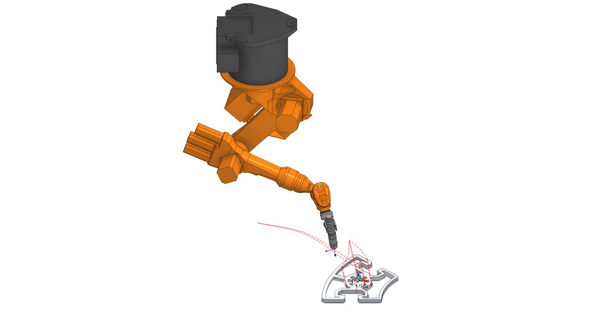 Плазменная резка роботом в SprutCAM 2