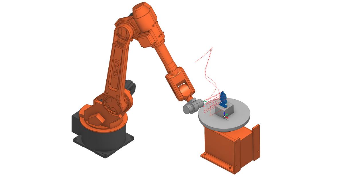 Фрезерование роботом в SprutCAM 2