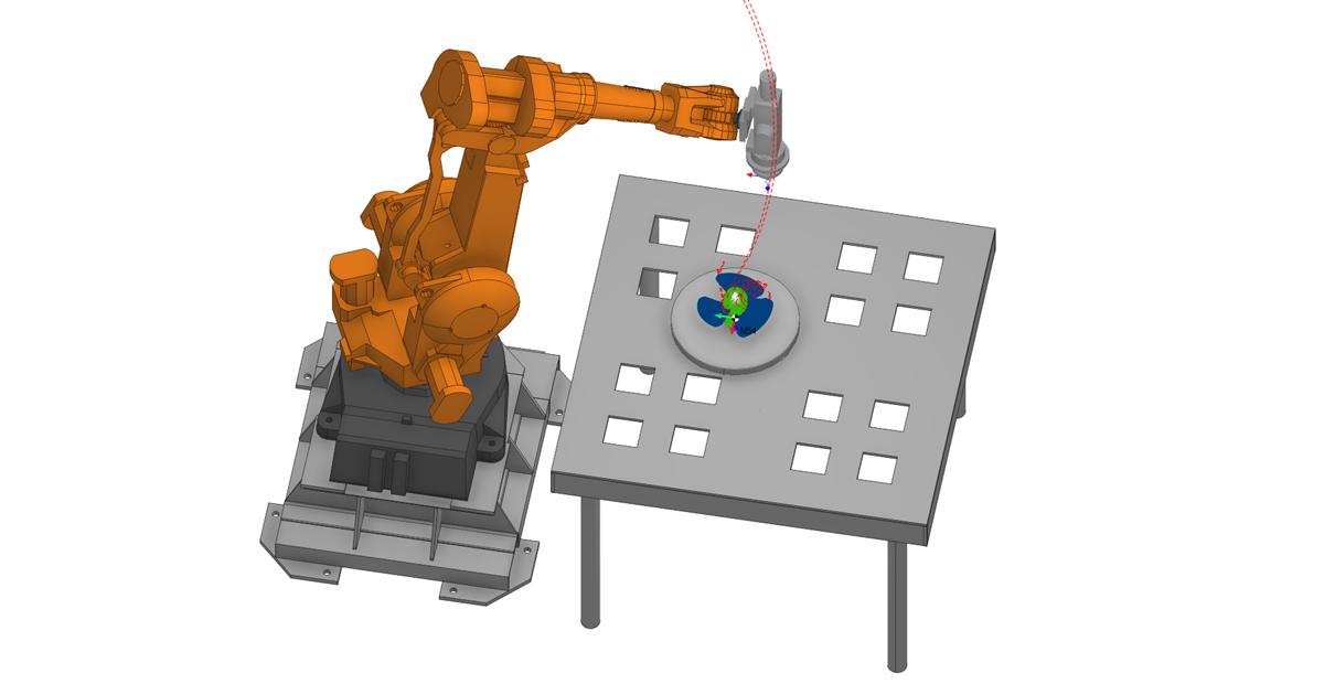 3D печать роботом в SprutCAM 2