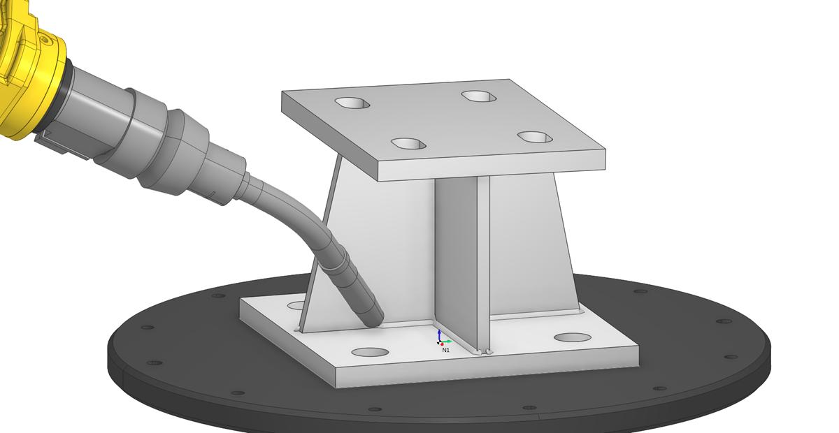 Сварка роботом в SprutCAM 1