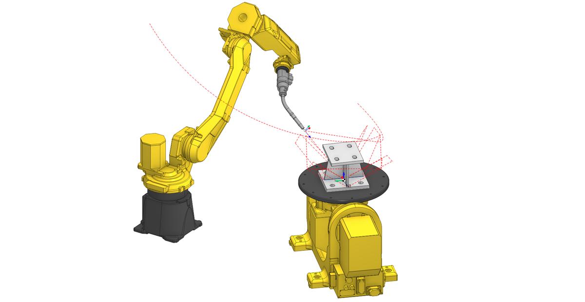 Сварка роботом в SprutCAM 2