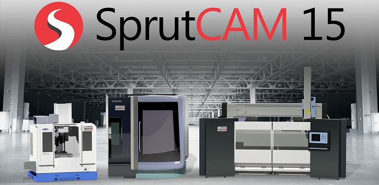 Вышла новая версия SprutCAM. SprutCAM 15