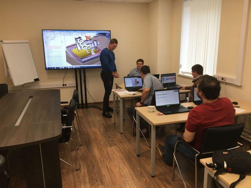 Обучение SprutCAM Пользователь РТК. Новый учебный класс на Красноказарменной